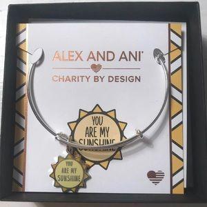 {Alex & Ani} you are my sunshine bangle braclet